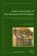Arabic manuscripts of the Thousand and One Nights De  Collectif - espaces&signes